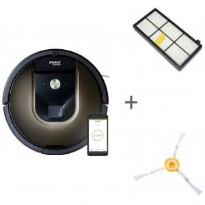 Робот-пылесос iRobot Roomba 980 + боковая щетка + сменный фильтр