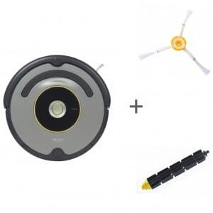 Робот-пылесос iRobot Roomba 616 + боковая щетка + щетка резиновая