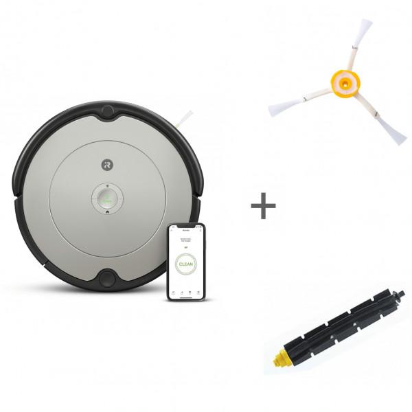 Робот-пылесос iRobot Roomba 698 + боковая щетка + щетка резиновая в подарок!