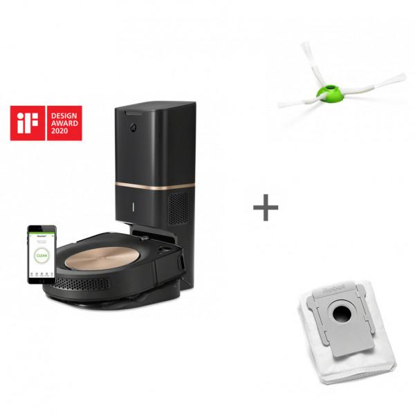 Робот-пылесос iRobot Roomba s9+ + боковая щетка + мешок для сбора пыли в подарок!