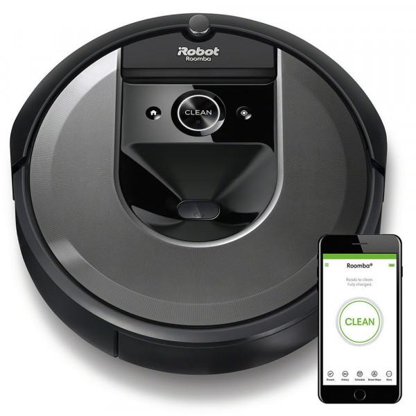 Робот-пылесос iRobot Roomba i7 + боковая щетка + фильтр в подарок!
