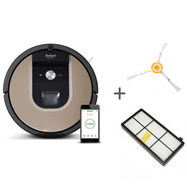 Робот-пылесос iRobot Roomba 976 + боковая щетка + сменный фильтр в подарок!