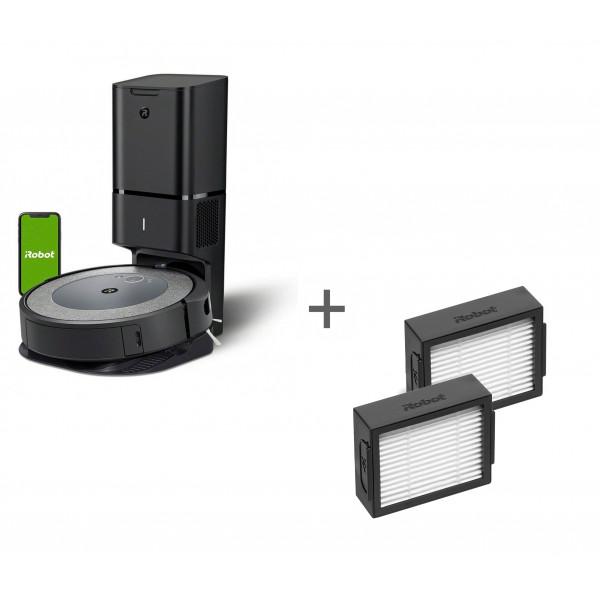 Робот-пылесос iRobot Roomba i3+ + два фильтра для Roomba в подарок!