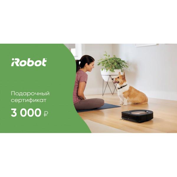 Подарочный сертификат iRobot 3000 руб.