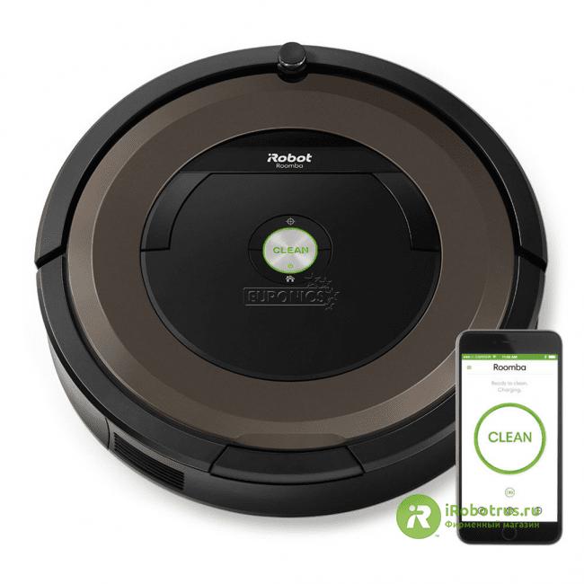 Roomba 896  в фирменном магазине iRobot
