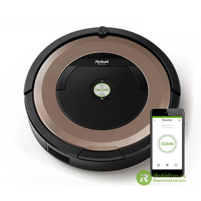 Roomba 895  в фирменном магазине iRobot