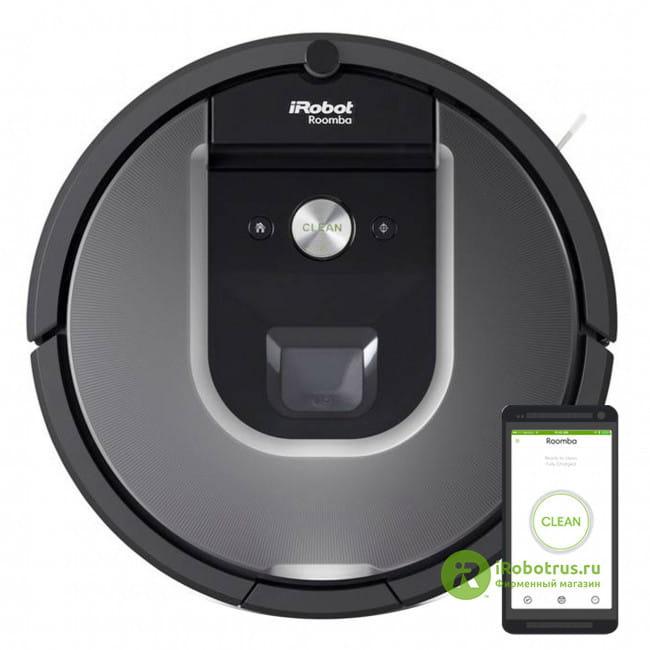 Roomba 960 96004RND в фирменном магазине iRobot