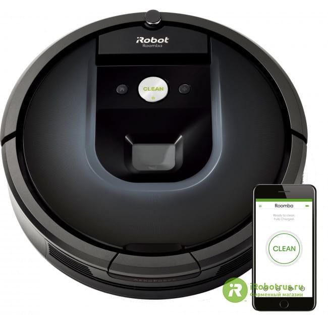 Roomba 981 98104RND в фирменном магазине iRobot