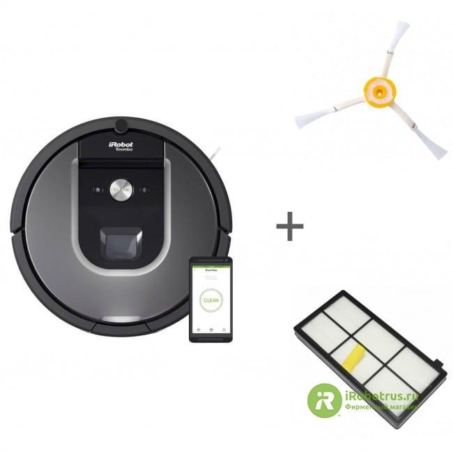 Roomba 960, для Roomba, Scooba, для Roomba 800, 900 96004, 4419698, 4419697 в фирменном магазине iRobot