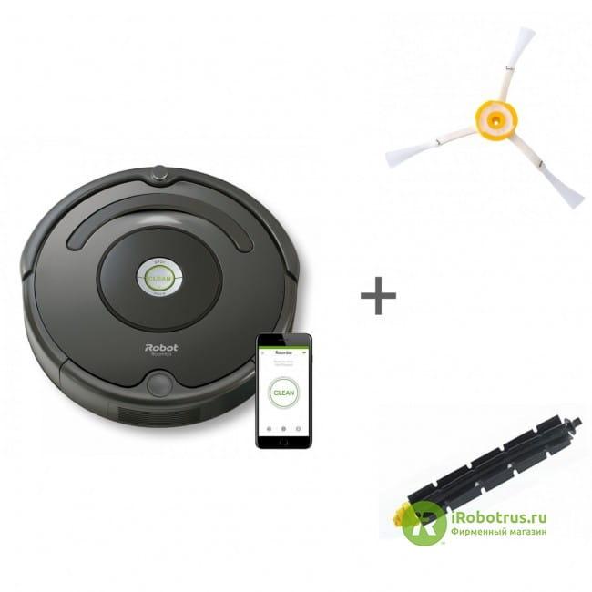 Roomba 676, для Roomba, Scooba, для Roomba 600, 700 67604, 4419698, 21926 в фирменном магазине iRobot