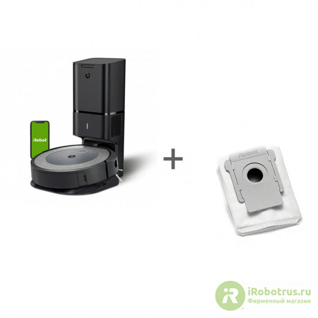Roomba i3+, для сбора пыли для I3+, I7+, s9+ i355840PLUS_RND, 4626193 в фирменном магазине iRobot