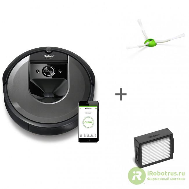 Roomba i7, для Roomba e5, i7, для Roomba e5, i7 i715840RND, 4624875, 4624865 в фирменном магазине iRobot