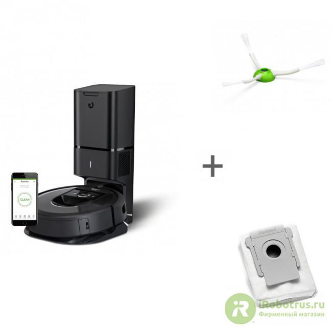 Roomba i7+, для Roomba e5, i7, для сбора пыли для i7+ и Roomba s i755840PLUS_RND, 4624875, 4626193 в фирменном магазине iRobot