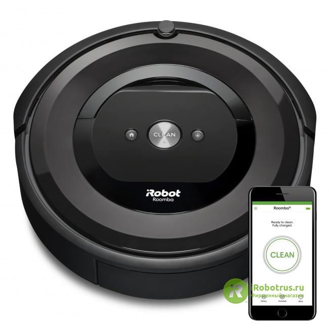 Roomba E5 e515840RND в фирменном магазине iRobot