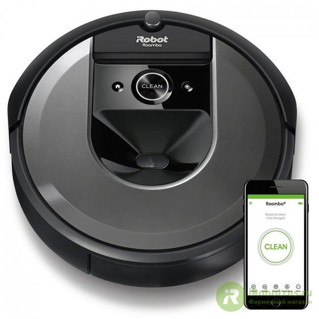 Roomba i7 i715840RND в фирменном магазине iRobot