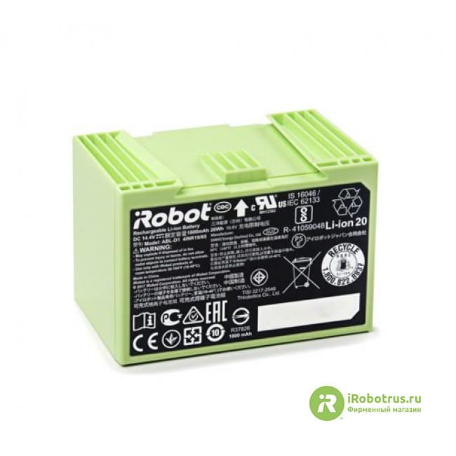 для Roomba Li-ion 4624864 в фирменном магазине iRobot