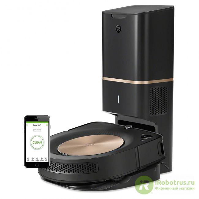 Roomba s9+ s955840+RND в фирменном магазине iRobot