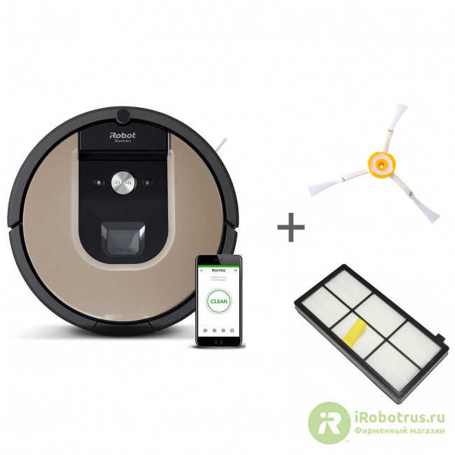 Roomba 976, для Roomba, Roomba для 800 и 900 серии 97604RND, 4419698, 4419697 в фирменном магазине iRobot