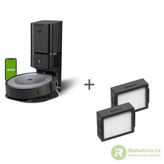 Roomba i3+, для Roomba e5, i7 i355840PLUS_RND, 4624865 в фирменном магазине iRobot