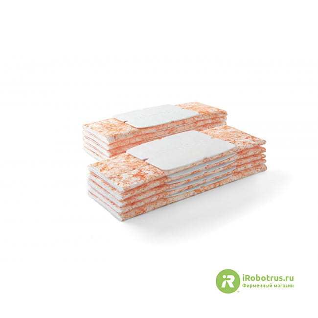 для Braava Jet, 10 шт. (без запаха) оранжевый 4489801, 4535910 в фирменном магазине iRobot