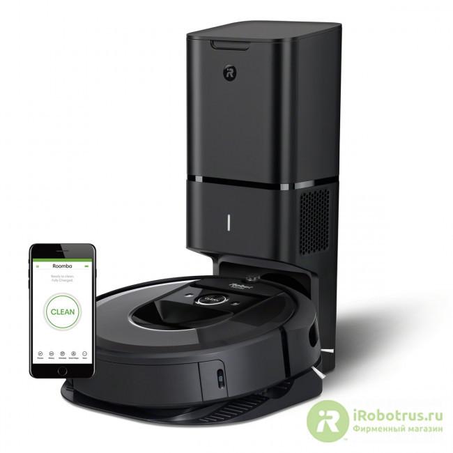Roomba i7+ i755840PLUS_RND в фирменном магазине iRobot