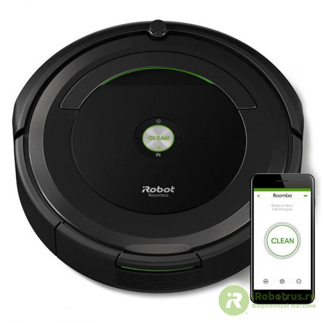 Roomba 696 69604RND в фирменном магазине iRobot