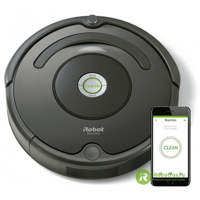 Roomba 676 67604RND в фирменном магазине iRobot
