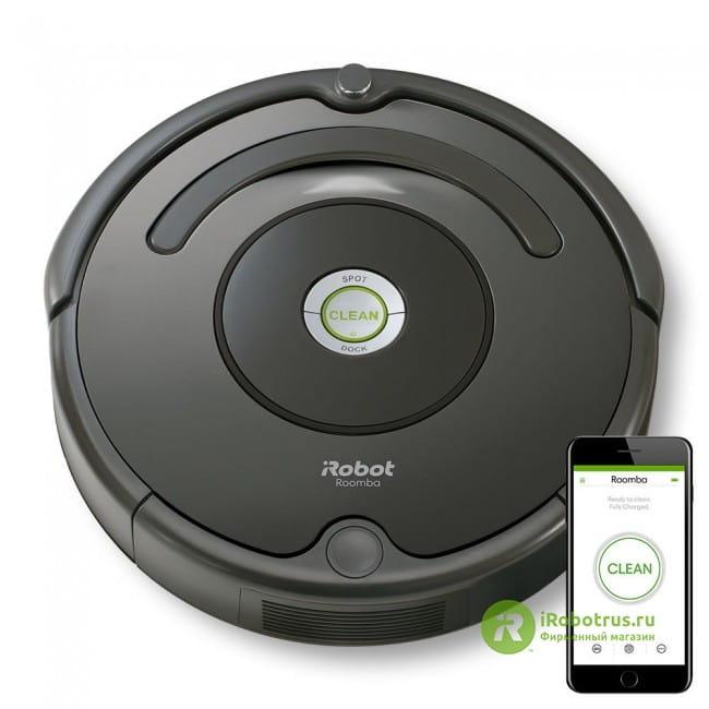 Roomba 676 67604 в фирменном магазине iRobot